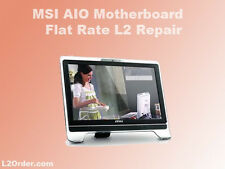 MSI All-In-One Desktop Motherboard Flat Rate Repair