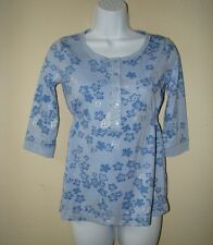 Old Navy Girls' Youth Blue Shirt Knit Top (size L)