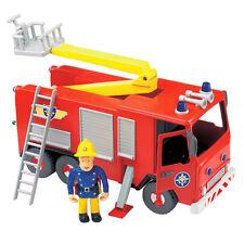 FIREMAN SAM FRICTION ACTION JUPITER FIRE ENGINE WITH SAM FIGURE ** BOXED **