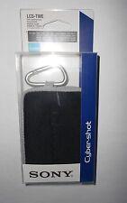New Sony Cybershot Digital Camera Case Black  for DSC LCS-TWE