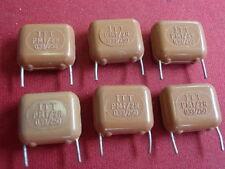 Condensador alta voltios org * Valvo 100µf 63v = axial d12 x 24mm 6x 24237