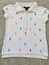 girls Ralph Lauren polo T shirt age 7