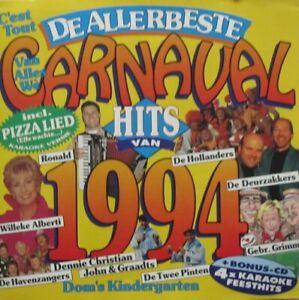 DE ALLERBESTE CARNAVAL HITS VAN 1994  - 2 CD