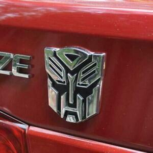 3D Autobot Logo Decal Car Protector Sticker Transformers Emblem Badge Graphics