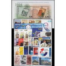 Luxemburg 2009 postfrisch ** Nr. 1818-1851 Block 22