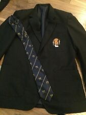 Boys King Charles I school Blazer Size 33/age 12/13/14 And Tie