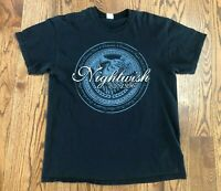 Nightwish Endless Forms Most Beautiful North America Tour 2016 T-Shirt Men's L