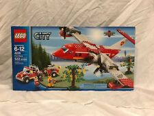 LEGO® City Fire Plane Building Play Set 4209 NEW NIB Retired
