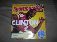 "Vintage ""Sporting News"" ""The Clinton Year"": Clinton Portis, Redskins cover, ex c"