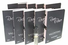Valentino ROCK & ROSE (.06X/2ML EACH) Women Eau De Perfume VIAL--LOT Of 10