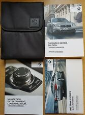 GENUINE BMW 5 SERIES F10 HANDBOOK NAVI OWNERS MANUAL 2013-2017 WALLET PACK C-236