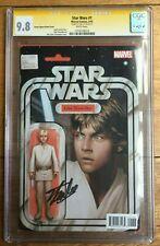 Star Wars #1 Skywalker Action Figure Variant J T Christopher CGC SS 9.8 Lee
