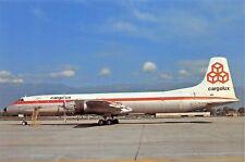 Cargolux Canadair CL-44 TF-CLA c/n 14  Airplane Postcard