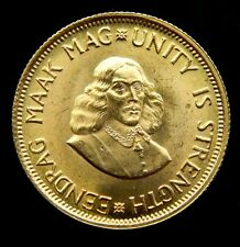 Gold South Africa 2 Rand Proof, 1968 (.917 pure, .236 oz)