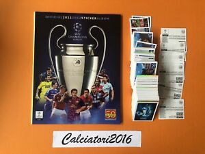 Champions League 2011/12 - PANINI Album vuoto+set completo 560 figurine stickers