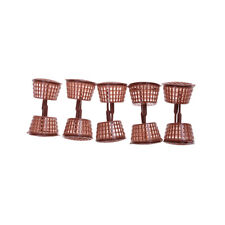 NEW 10 Pcs Big Size Orchid Fertilizer Bonsai Baskets Garden Flower Tool GD