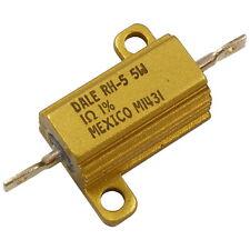 Vishay Dale RH-5 Widerstand 5W 1R 1% Drahtwiderstand Aluminiumgehäuse 856200