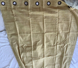 Pottery Barn  Linen Cotton Curtains Drapes 50x84 - One Natural