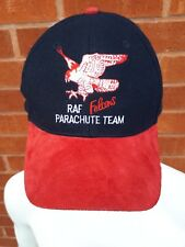 RAF Falcons Parachute Team Cap Hat Avia Watches Good Condition