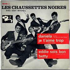 CHAUSSETTES NOIRES Daniela Eddie soit bon 1961 Eddy Mitchell Twist languette
