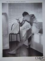 PUBLICITÉ 1987 ORLY SOUS-VÊTEMENTS SLIP - ADVERTISING