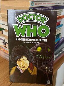 doctor who target book -  NIGHTMARE OF EDEN