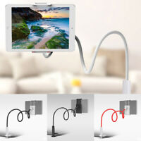 Universal Flexible Lazy Bed Desktop Stand Mount For Cell Phone Tablet Long Arm