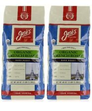 2 Pack Jose's Gourmet Organic French Roast Whole Bean Coffee 48 oz, 100% Arabica