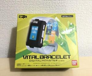 Bandai Digimon Vital Bracelet Costume/COLOR White WATCH JAPAN