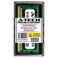 A-Tech 8GB DDR3 1600 MHz PC3-12800 1.35V 2Rx8 Memory RAM for INTEL NUC5i7RYH