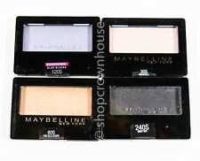 4 Maybelline Expert Wear Eyeshadow - Blue Blazes, Seashell, Glo Down, Night Sky