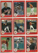 1992 Star Company Platinum Series 12-Player 108-Card Baseball Set 4/1000  Ripken