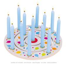 goki Geburtstagsringe Geburtstagskranz Luftballons 3 R. Holz Geburtstag NEU