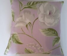 "New Cushion Cover's  "" ONE PAIR ""  Same Backs Lavender floral Fabric - Gorgeous"