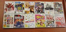 LOT JEUX Nintendo WII  12 JEUX DIVERS COMPLET CD REMIS A NEUF