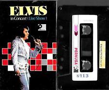 Elvis Presley (Indonesian) cassette album - Live Show In Concert