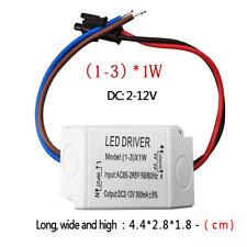 LED Driver AC 120V/240V to DC 12V Transformer Power Adapter Home Converter 1W-3W