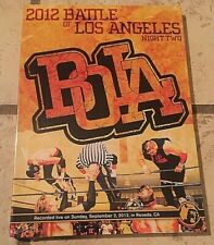 Dvd Pwg Pro Wrestling Guerrilla Bola Battle Of Los Angeles 2012 Night Two