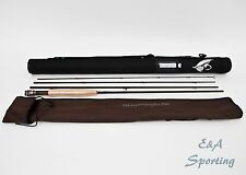 Fly Rod 5 wt 9' fast action Japanese IM12 Nano carbon w/ rod tube and sock