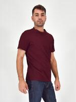 PRADA Maglia T-Shirt Bordeaux Taglia L Uomo Man Casual Vestibilità