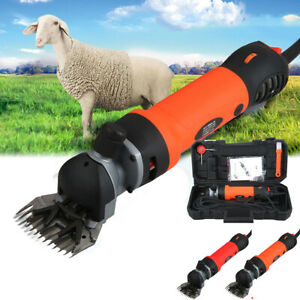 690W Electric Shearing Clippers Sheep Goat Trimmer Shaver Farm Machine 6 Speeds