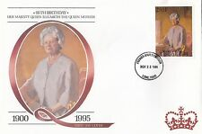 (94812) Togo FDC Queen Mother 95th Birthday Lome 22 November 1995