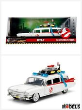 GHOSTBUSTERS ECTO-1 Hollywood Riders Metal Die Cast Cadillac Jada Toys 1/24 New