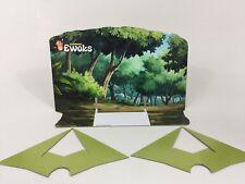 custom vintage star wars ewoks animated forest backdrop for original yellow base