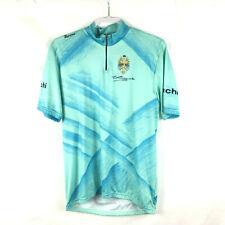 Bianchi Edoardo Santini SMS Cycling Jersey Mens Sz XXL 2xl Made  Italy Blue