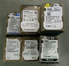 Lot of 33 x 320 GB Laptop 9.5mm HDD/2.5 Inch/SATA/All tested/ Price inc VAT