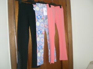 Three pair of leggings age 10-11 yrs.