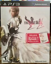 Final Fantasy XIII-2 With Novella Exclusive Edition PlayStation 3 PS3 Episode i