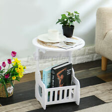 Nightstand Modern Bedside Table Coffee End Side Table Stand Storage Organizer US