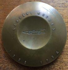 "Nice Large 1954 General Motors BRONZE 3 "" MEDAL  50 Million Cars"
